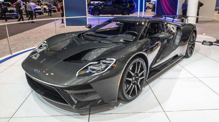 2020 Ford Gt Supercar Motor