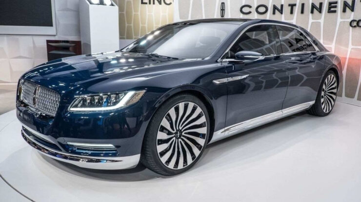 2020 Lincoln Town Car Modell