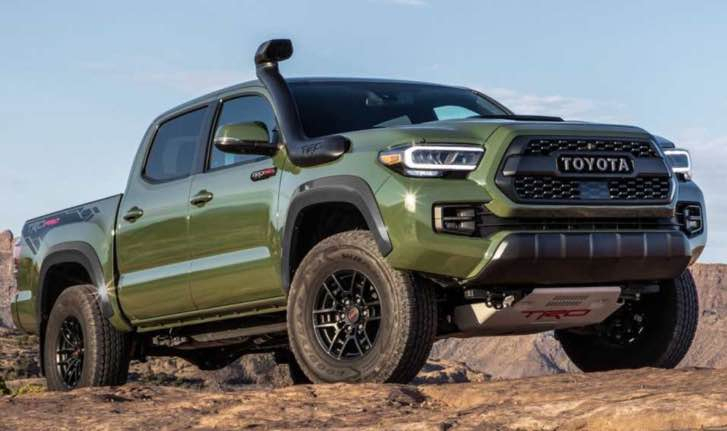 2021 Toyota Tacoma Diesel Modell