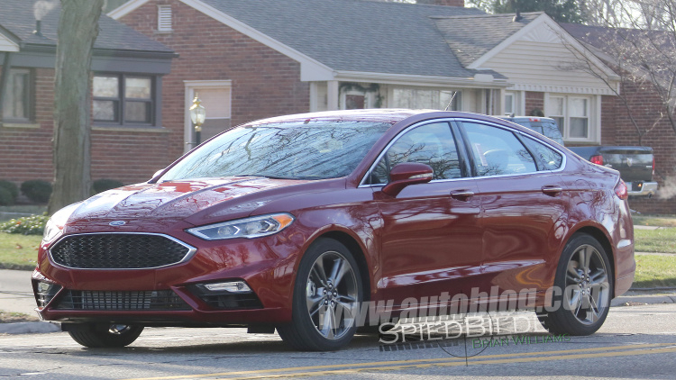 Spy Shots Ford Fusion Modell